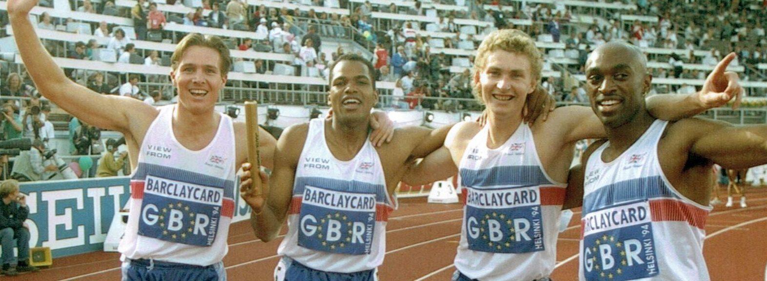 4 x 400 relay European Champions 1994
